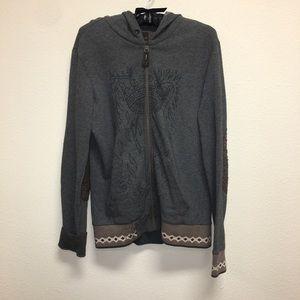 Energies Gold zip up hoodie